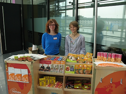 Fair Trade Point auf der Messe Fair Handeln